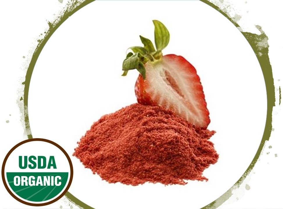 Strawberry Hibiscus Face Mask (Mature Skin)