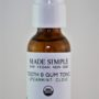 Made Simple Skin Care Tooth Gum Tonic Spearmint Clove USDA Certified Organic Raw Vegan NonGMO
